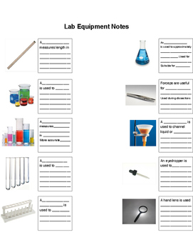 Scaffolding for Lab Equipment Notes