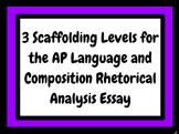 3 Graphic Organizers for the Rhetorical Analysis Essay