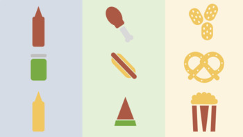 Scalable Customizable Food Clip Art for PowerPoint