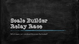 Scale Builders Relay Race