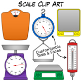 Scale Clip Art | Measuring Weight