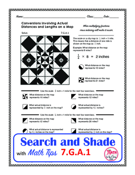 Scale Drawing Coloring Search and Shade