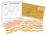 Scale Drawing Lesson and Worksheet
