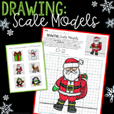 Scale Drawing Math Activity - NO PREP Christmas and Holiday FUN