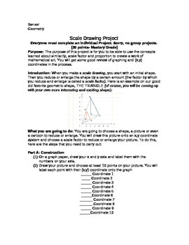 Scale Drawing Project