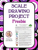 Scale Drawing Project Freebie ~ Common Core 7.RP, 6.RP