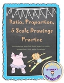 Scale Drawing, Ratio, Proportion Practice Questions/Test