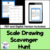 Scale Drawing Scavenger Hunt CCS 7.G.A.1