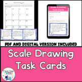 Scale Drawing Task Cards CCS 7.G.1