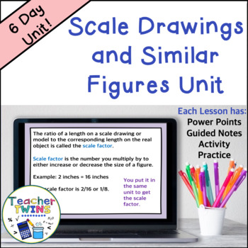 Scale Drawing Unit Common Core G 1