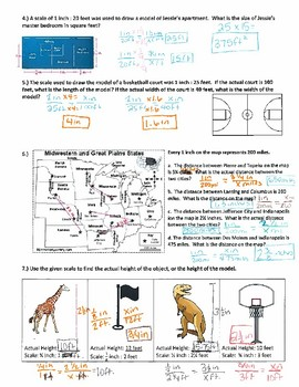 Scale Drawings ~ 7th Grade Math Practice