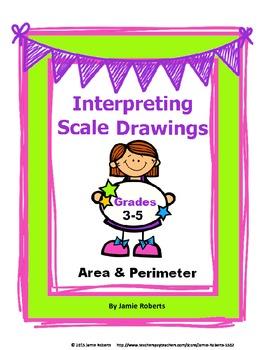 Scale Drawings: Area & Perimeter (Use Ruler)