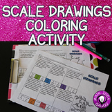 Scale Drawings Coloring Activity