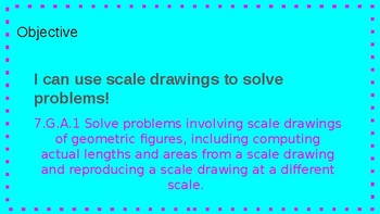 Scale Drawings Full Lesson 7.G.A.1