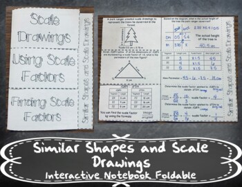 Scale Drawings INB TEKS 7.5C