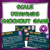 Scale Drawings Knockout Game for 7th Grade Math