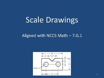 Scale Drawings Presentation - 7.G.1