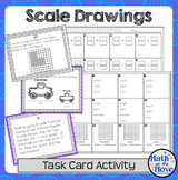 Scale Drawings - Task Card Activity (7.G.1)
