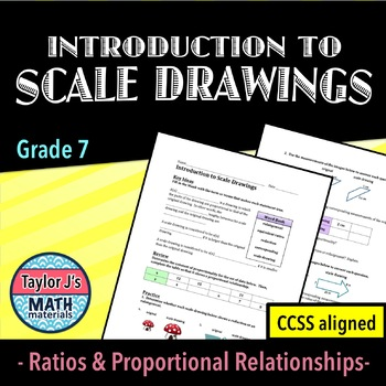Scale Drawings Worksheet - Introduction