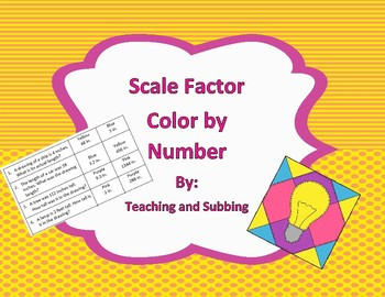Scale Factor Color by Number