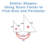 Scale Factor Differentiated Practice Sheets