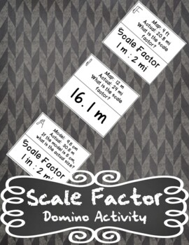 Scale Factor Domino Activity