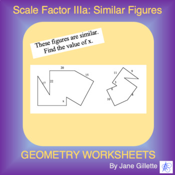 Scale Factor IIIa: Similar Figures