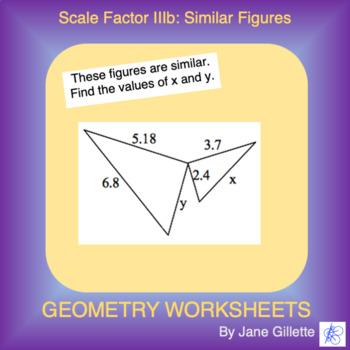 Scale Factor IIIb: Similar Figures