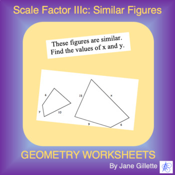 Scale Factor IIIc: Similar Figures