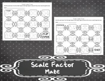 Scale Factor Maze