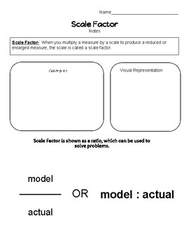 Scale Factor Notes