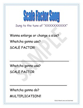 Scale Factor Song