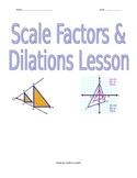 Scale Factors & Dilations Lesson
