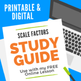 Scale Factors of Similar Figures Study Guide