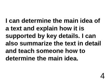 Scale: Main Idea