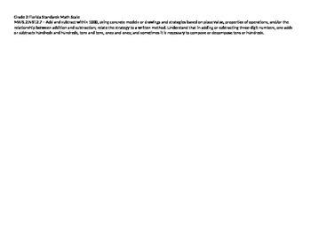 Scale – Math Florida Standards Gr 2 MAFS.2.NBT.2.7 Number Base Ten 2NBT27 FS
