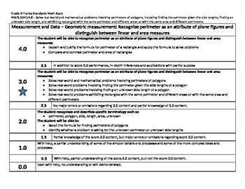 Scale – Math Florida Standards Gr 3 MAFS.3.MD.4.8 Measurem