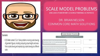 Scale Model Problems (PowerPoint Lesson with Printables!)