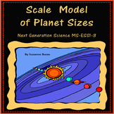 Scale Model of Planet Sizes: Next Generation Science MS-ESS1-3