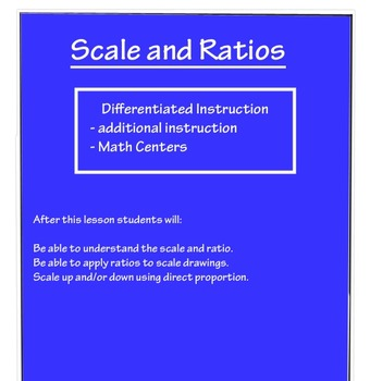 Scale & Ratio - Lesson