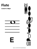 Scale Spell - Concert E-Natural (Worksheet and Test - Full Band)