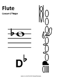 Scale Spell - Concert D-Flat (Worksheet and Test - Full Band)