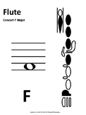 Scale Spell - Concert F-Natural (Worksheet and Test - Full Band)