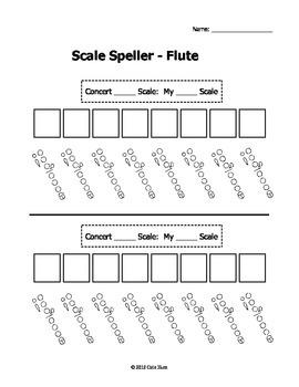 Scale Speller Worksheets - Complete Set