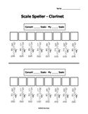 Scale Speller Worksheets - Complete Set