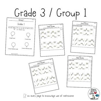 Scale Stars ABRSM Grade 3