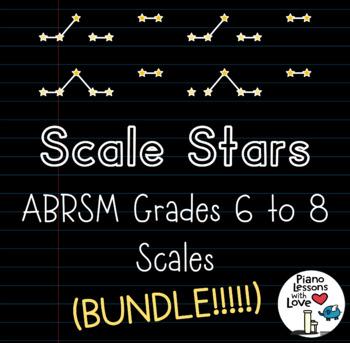 Scale Stars ABRSM Grades 6 to 8 (BUNDLE!!)