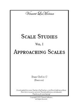 Vol. 1: Approaching Scales (Bassoon)