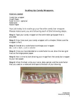 Scale Up Candy Wrappers