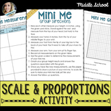 Scale and Proportions Activity